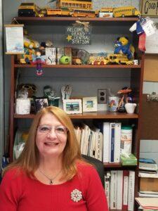 Safety Star of the Year Angela Harper from Gateway Regional HS